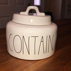 Rae Dunn Contain canister